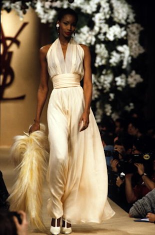 Yves Saint Laurent Runway - Foto: Getty Images.