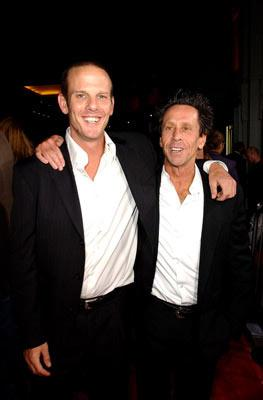 Director Peter Berg and producer Brian Grazer at the Hollywood premiere of Universal Pictures' Friday Night Lights