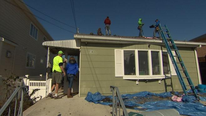 Rebuilding Continues One Year After Sandy