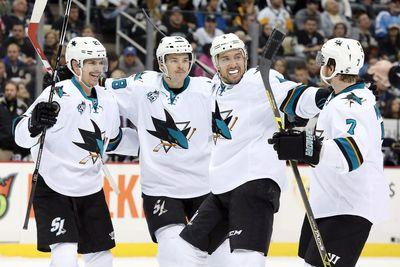 NHL scores 2015: Sharks finish perfect 6-game road trip with comeback in Columbus
