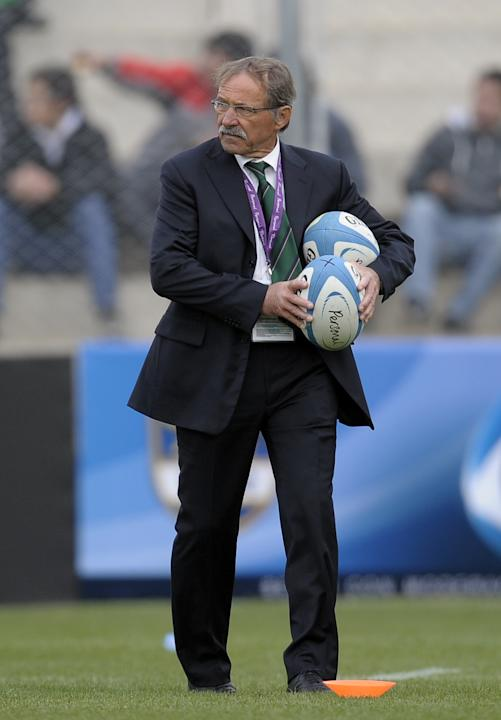 Italy's rugby team head coach Jacques Br