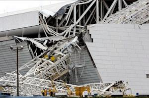 Two-month delay likely following accident in World Cup stadium construction