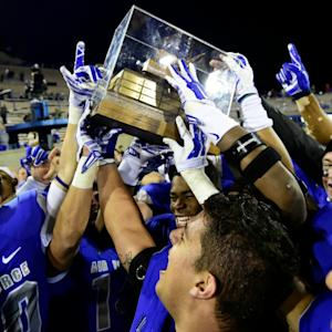 Air Force Shocks Colorado State With Last Second Win
