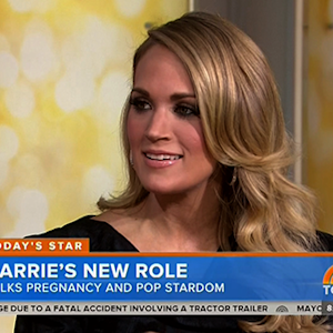 Carrie Underwood Opens Up About Pregnancy