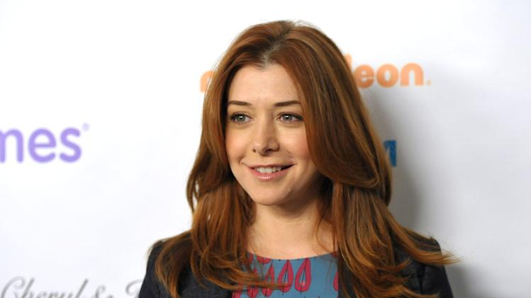 "FILE - This Dec. 7, 2012 file photo shows actress Alyson Hannigan from the CBS comedy, ""How I Met Your Mother,"" at the March of Dimes Celebration of Babies  in Beverly Hills, Calif.  A judge has ordered a New Hampshire man to stay away from Alyson Hannigan and refrain from posting about the actress for the next three years. (Photo by John Shearer/Invision/AP, file)"