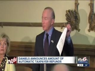 Ind. taxpayers to receive tax credits