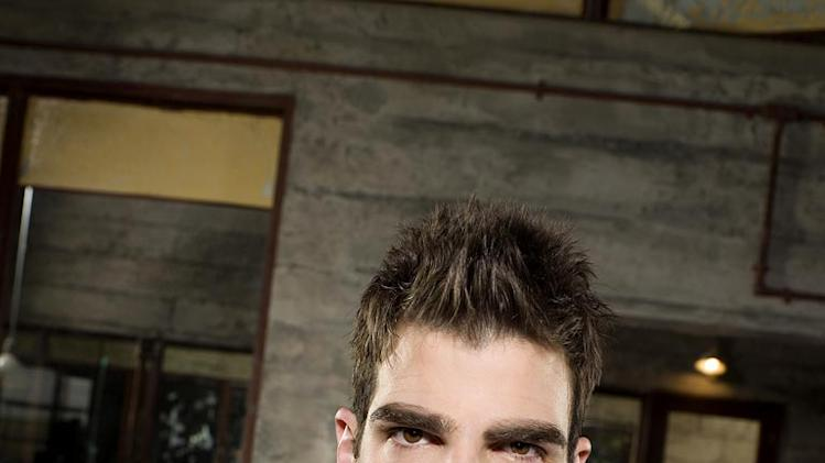 Zachary Quinto stars as Sylar in Heroes.