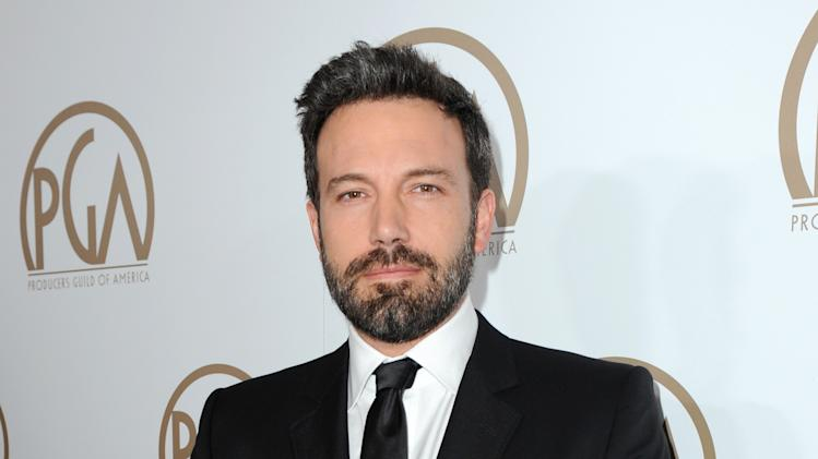 Ben Affleck arrives at the 24th Annual Producers Guild (PGA) Awards at the Beverly Hilton Hotel on Saturday Jan. 26, 2013, in Beverly Hills, Calif. (Photo by Jordan Strauss/Invision for The Producers Guild/AP Images)