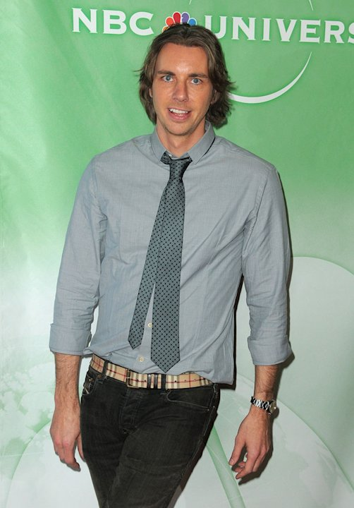 Dax Shepard arrives at NBC Universal's Press Tour Cocktail Party at Langham Hotel on January 10, 2010 in Pasadena, California.