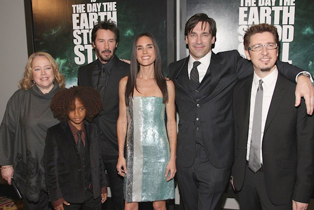 The Day the Earth Stood Still NY Premiere 2008 Kathy Bates Jaden Smith Keanu Reeves Jon Hamm Scott Derrickson