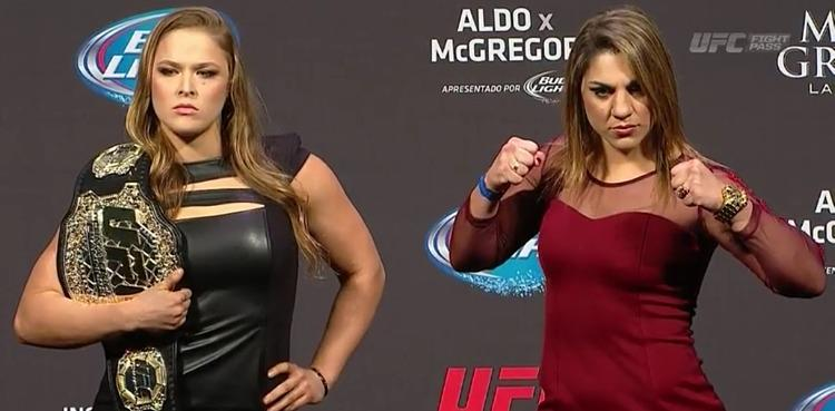 Bethe Correia: I hope Ronda Rousey doesn't kill herself after I beat her