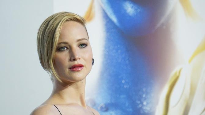 Actress Jennifer Lawrence attends a film premiere on May 10, 2014 in New York