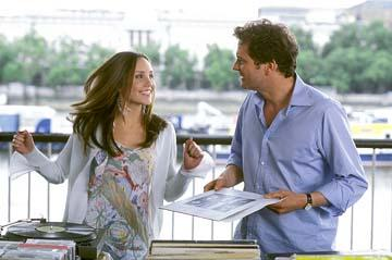 Amanda Bynes and Colin Firth in Warner Brothers' What a Girl Wants