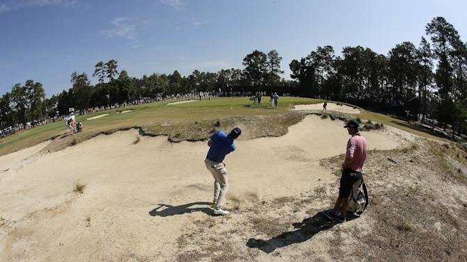 US Open has a brown, British look to it