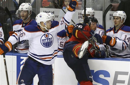 Nugent-Hopkins scores shootout winner for Oilers