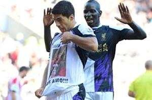 Sakho: I'm glad I don't play against Suarez