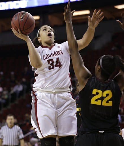 Washington St. women advance, top Ariz. St. 48-41