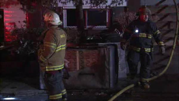 Suspicious house fire in West Philadelphia