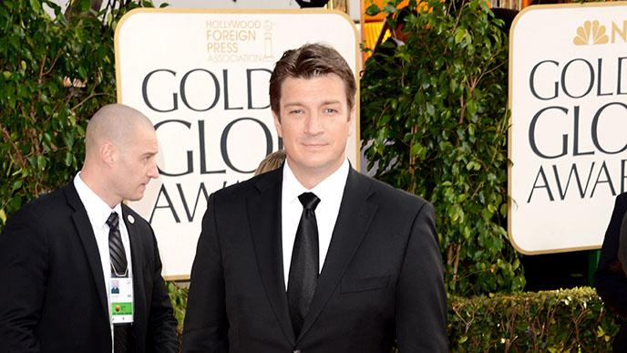 70th Annual Golden Globe Awards - Arrivals: Nathan Fillion