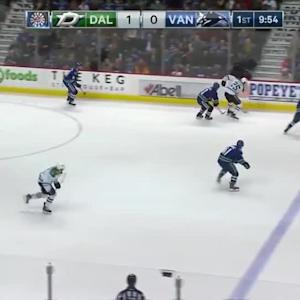 Dallas Stars at Vancouver Canucks - 03/28/2015