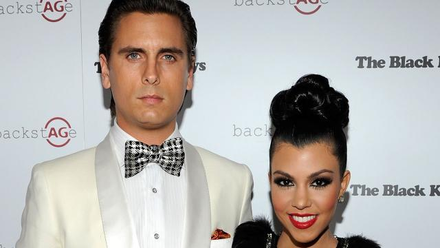 Kourtney Kardashian and Scott Disick Share Photos At Home With Kids -- Are They Back Together?