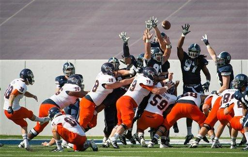 Rice hands UTSA first loss of season 34-14