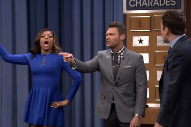 'Empire's' Taraji P. Henson Takes Out Ryan Seacrest, Jimmy Fallon in Charades (Video)