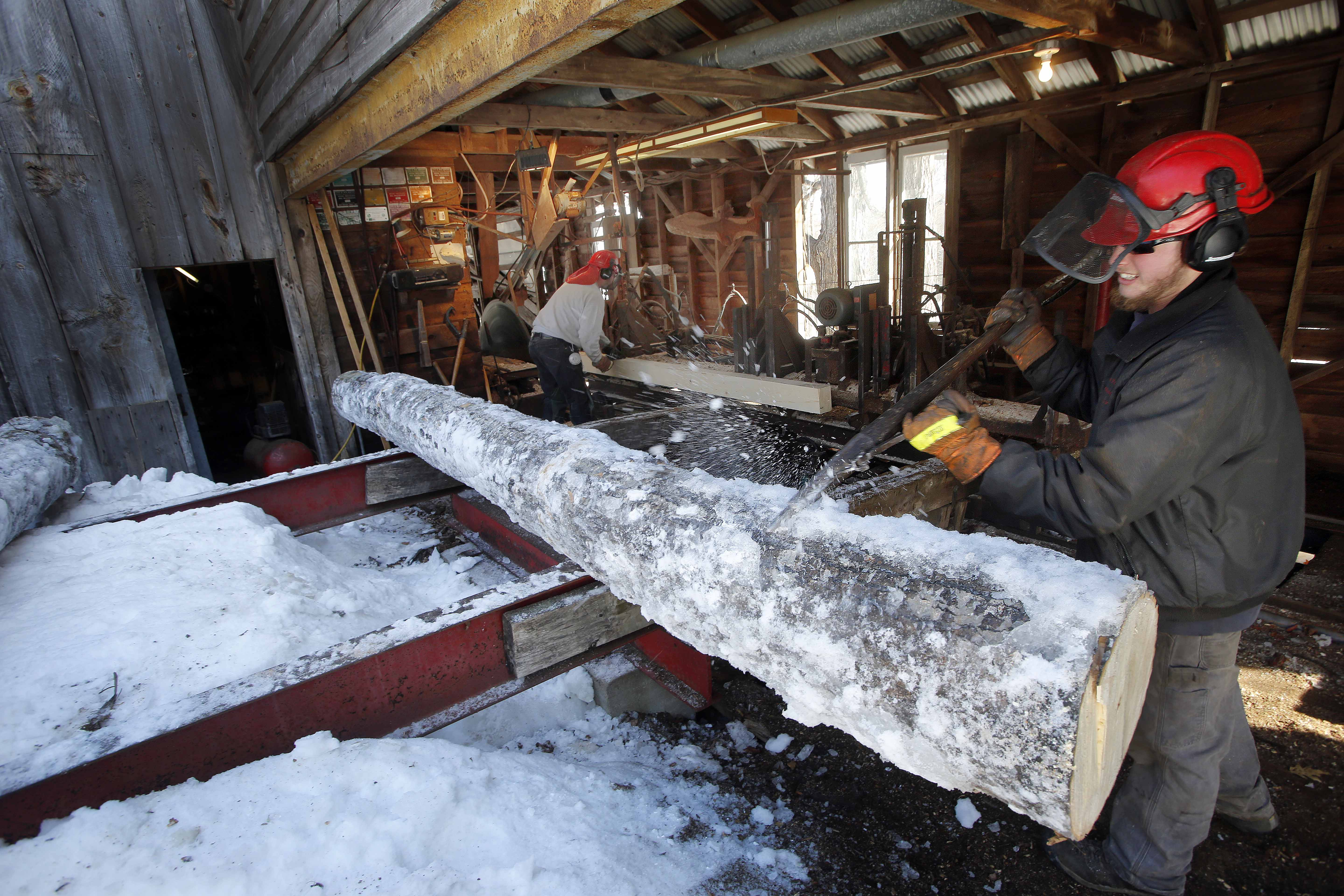Family keeps small-time sawmill buzzing in New Hampshire
