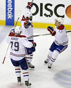 Subban leads Canadiens to 4-3 OT win over Bruins