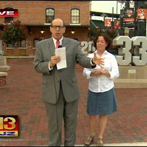 People Are Talking: Orioles Food Drive