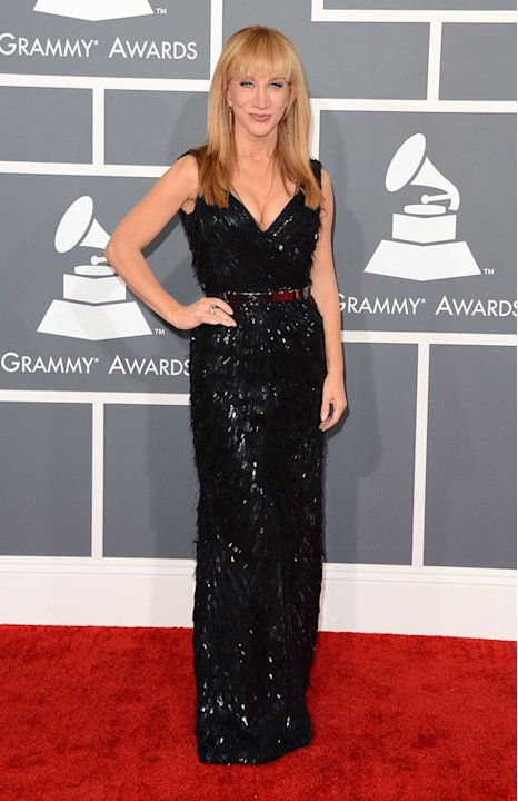 The 55th Annual GRAMMY Awards - Arrivals: Kathy Griffin
