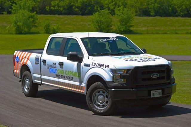 2016 Ford F-150 Offers Natural-Gas/Propane Prep-Kit Option