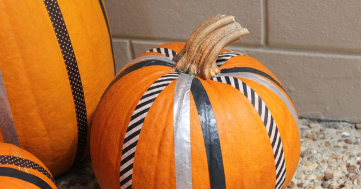13 No-Carve Ways to Decorate Pumpkins This Fall