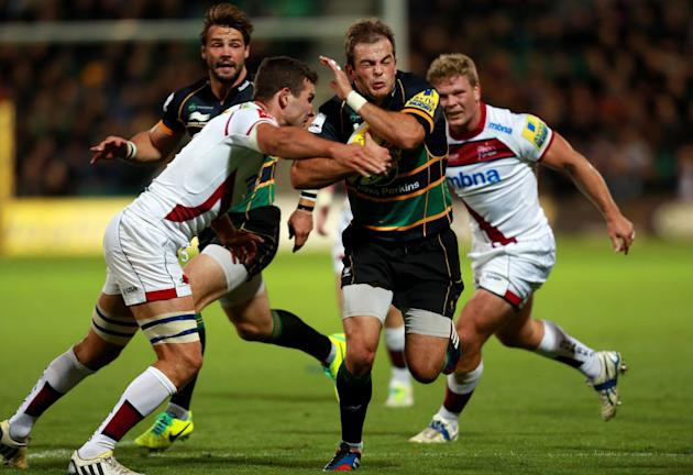 Rugby Union - Aviva Premiership - Northampton Saints v Sale Sharks - Franklin Gardens