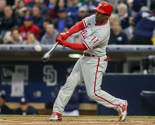 Worley strikes out 11, Phillies beat Padres 2-0