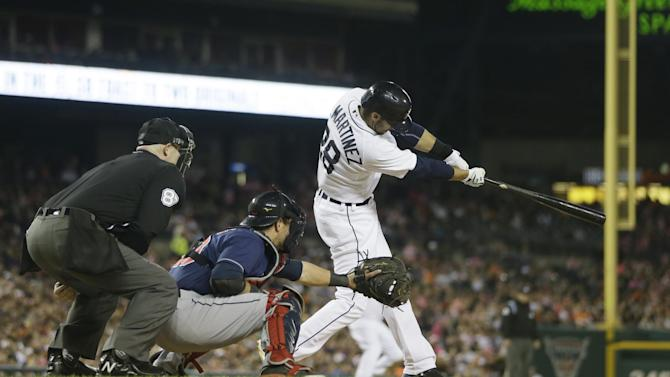 Tigers lead division after 7-2 win over Indians