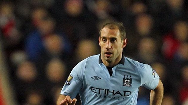 Pablo Zabaleta, Manchester City (PA Photos)