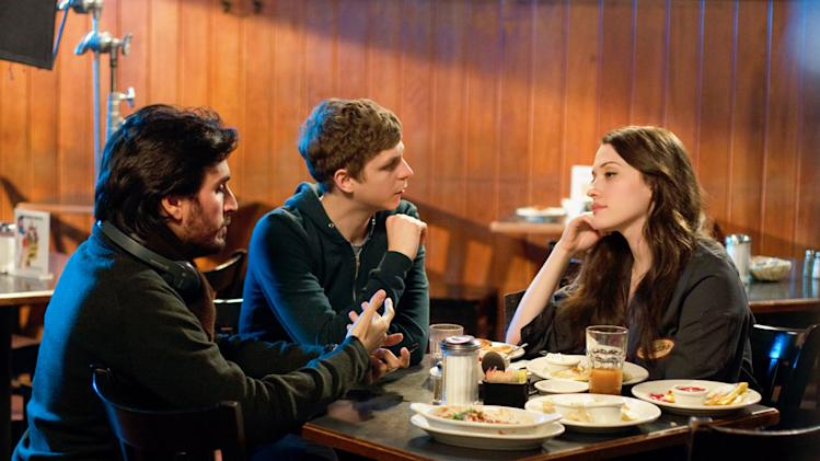 Director Pete Sollett Michael Cera Kat Dennings Nick & Norah's Infinite Playlist Production Stills Sony Pictures 2008
