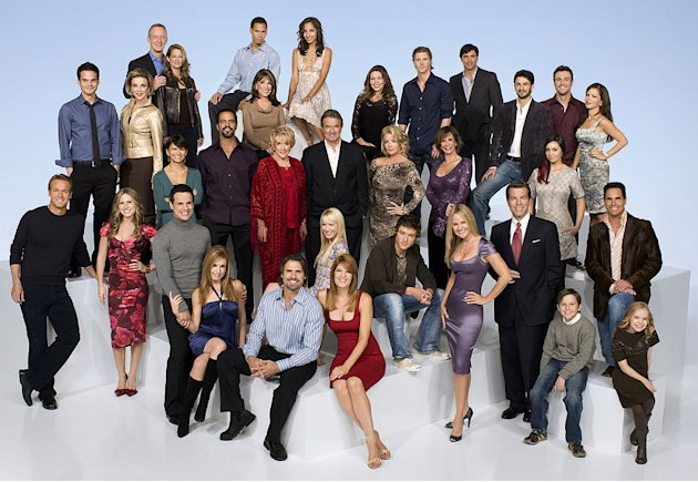 "The cast of ""The Young and the Restless."""