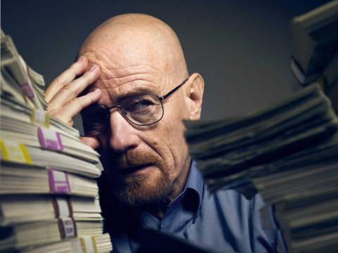 walter white money headache problems