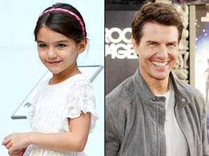 Suri Cruise, Tom Cruise Spend Thanksgiving Together in London