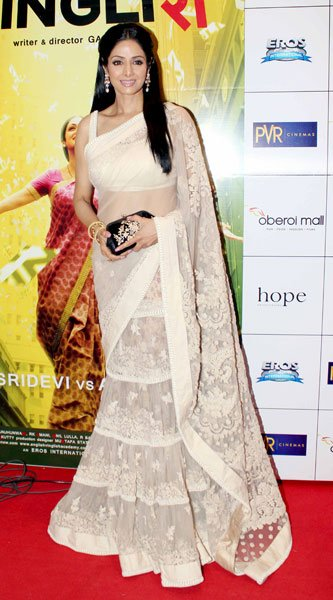 Celebs at 'English Vinglish' premiere