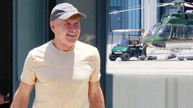 Harrison Ford Flies a Helicopter Just Months After His Plane Crash