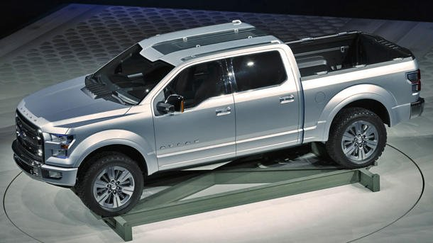 Ford Atlas Concept, the sneak peek at the future of F-Series pickups
