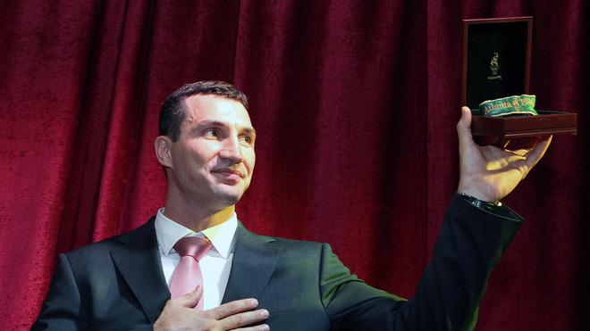 Heavyweight World Boxing Champion Vladimir Klitschko Displays AFP/Getty Images