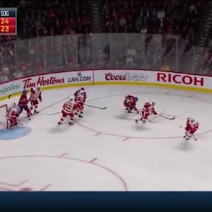 Jimmy Howard Save on P.K. Subban (03:58/3rd)