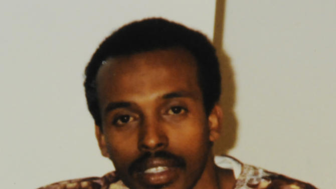 FILE - In this undated file family photo made available by his family in Minneapolis, Mahamud Said Omar is seen. Omar is on trial in Minneapolis on five terror-related counts including helping recruit about 20 young men to travel to Somalia and fight with the terror group al-Shabab. (AP Photo/Family of Mahamud Said Omar,File)