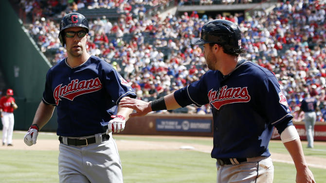 Gomes, Santana homer, lead Indians over Rangers