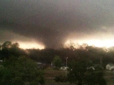 Weather Service: Tornado, Injuries in Mississipp