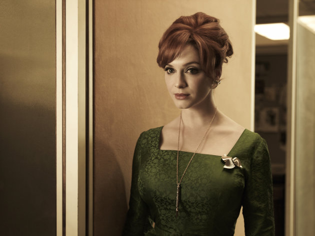 Christina Hendricks stars as Joan Harris in &quot;Mad Men.&quot; 